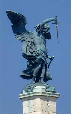 Archangel Michael -Castle of Sant' Angelo, Rome