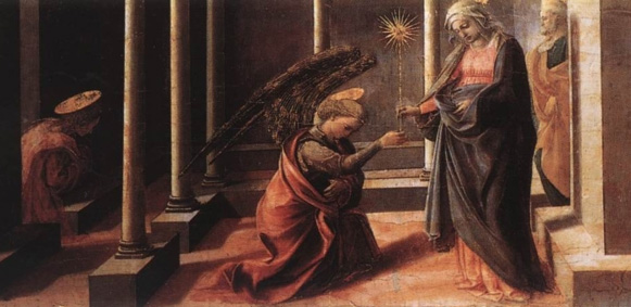 Archangel Michael - Announcement of the Death of the Virgin Mary
