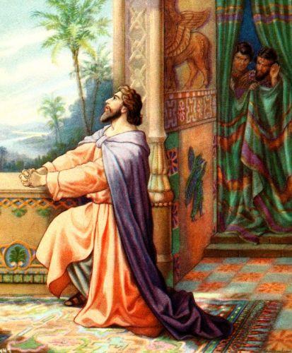 Daniel imádkozott