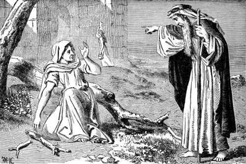 Elijah And The Widow Woman http://christianimagesource.com/details.php?gid=326&pid=2162