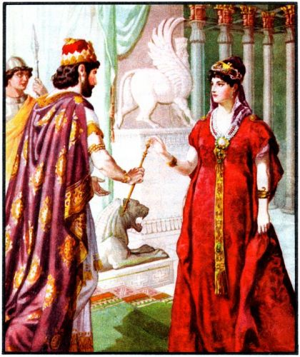 Esther and Ahasuerus - Image 6
