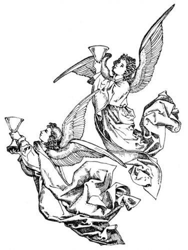 Free Angel Clip Art Image 9