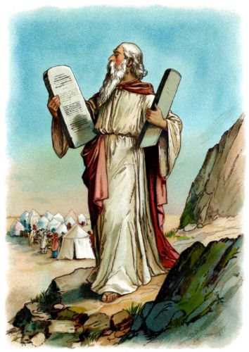 Moses Ten Commandments  -  Image 5