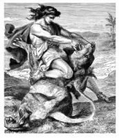 Samson and the Lion - Image 10