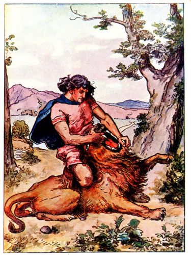 Samson and the Lion - Image 11