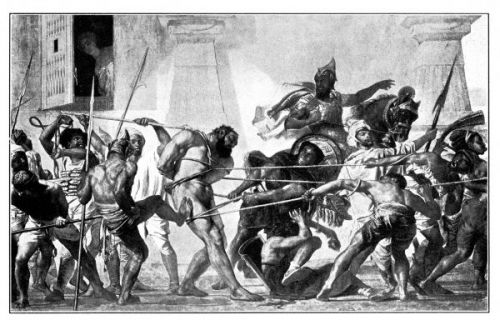 PD Stock photo : Samson Captured By The Philistines By Golynsky ...